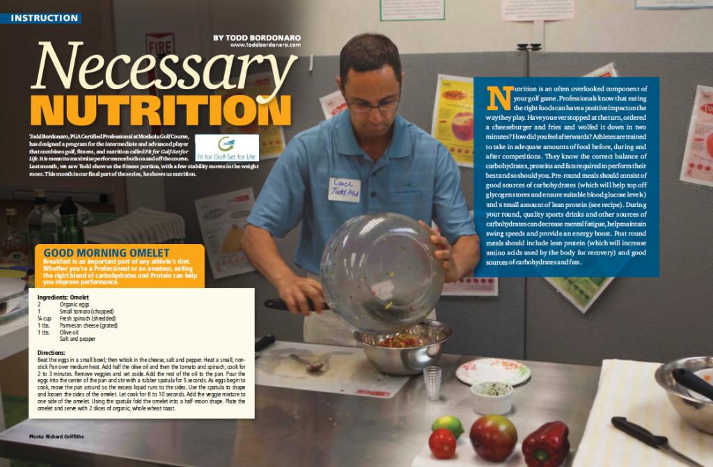 Todd's MGA Nutrition Article