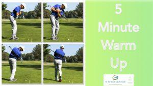5 minute warm up header